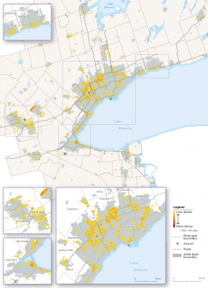 Map 31:  Other Manufacturing Archetype Employment, GGH, 2016
