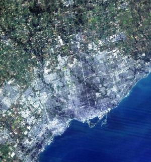 Toronto Satellite Image