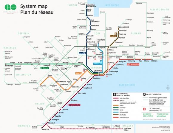 Bloor Danforth Subway Map.Improving The Go Ttc Interchange At Main Danforth Neptis Foundation