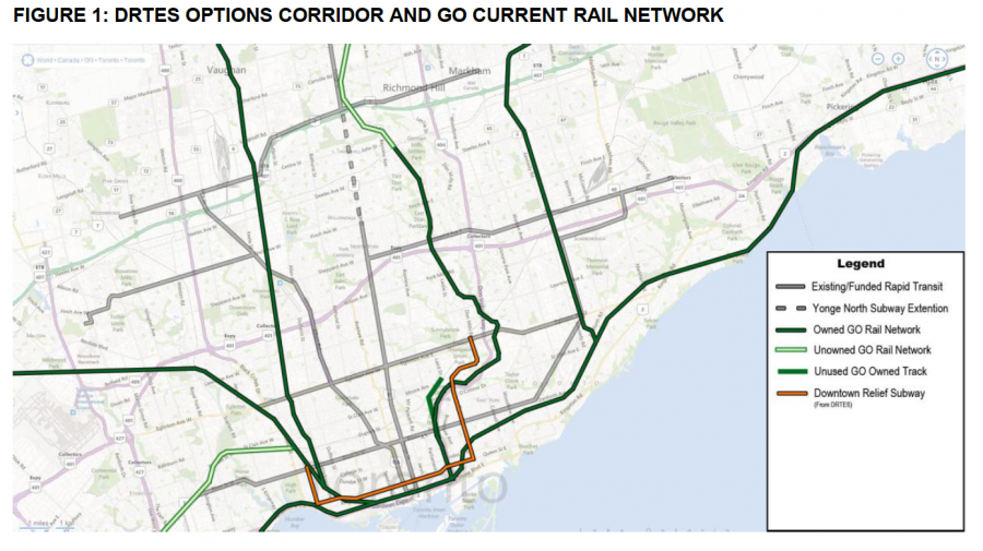 Ttc Subway Map Vs Actual.Downtown Relief Line Neptis Foundation